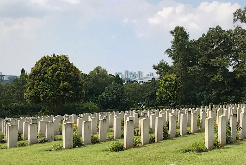 On the World War Two Trail, Where Southeast Asia Fell  — Singapore
