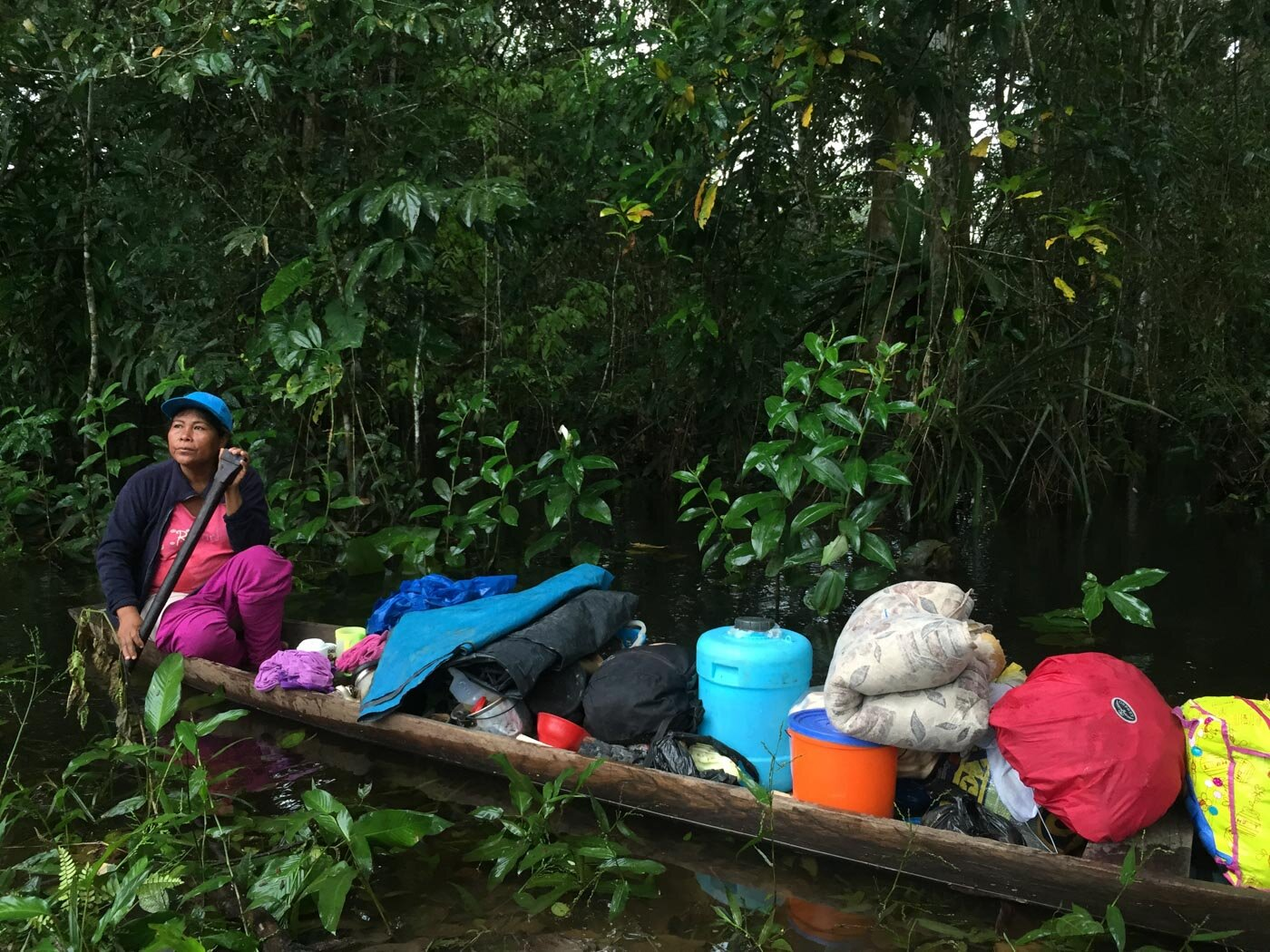 From the Amazon, Peru —     A mini essay on travelling alone     (Read at  The Lily,  Washington Post  )