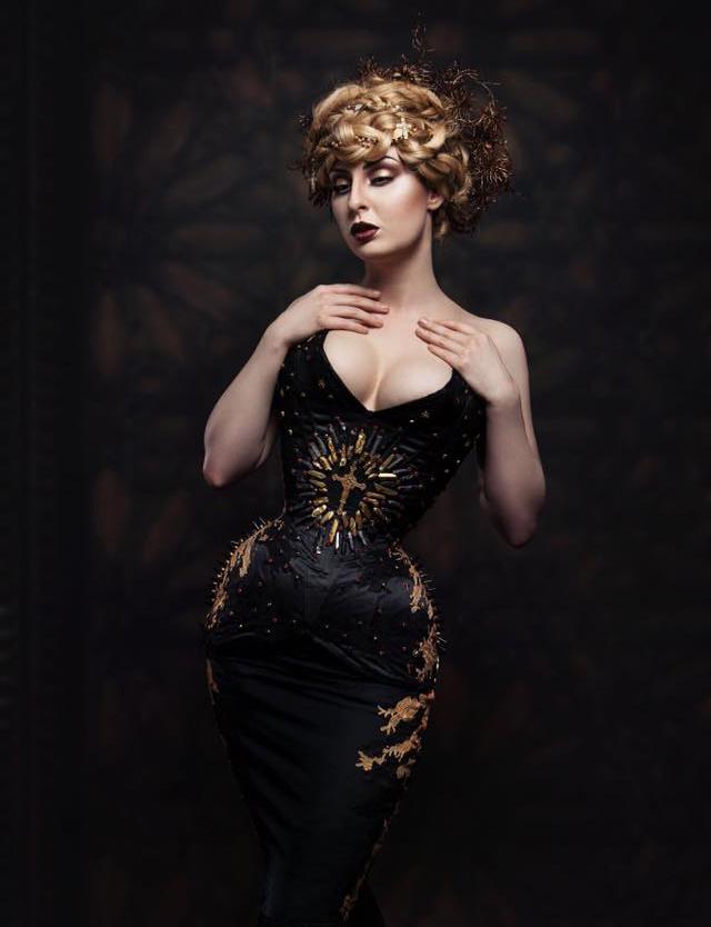 Trinity Corset  Photographer: Ivy Photography De  Model: Troys Seducement