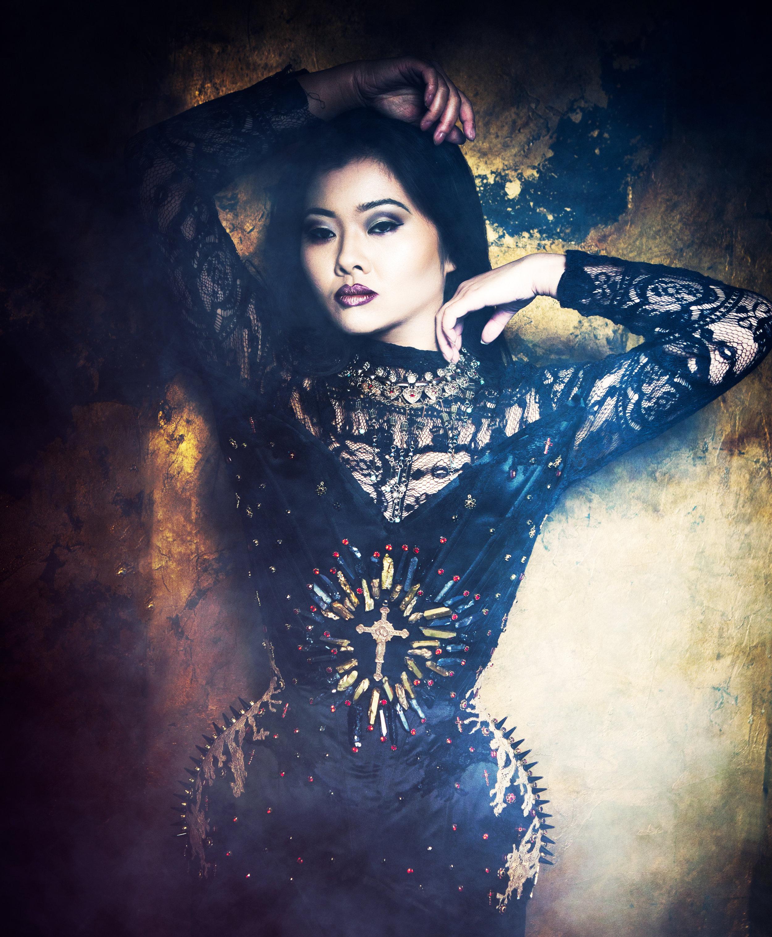Trinity Corset  Photography: InaGlo Photography  Model: Twig Uk  MUA: Samantha Taylor