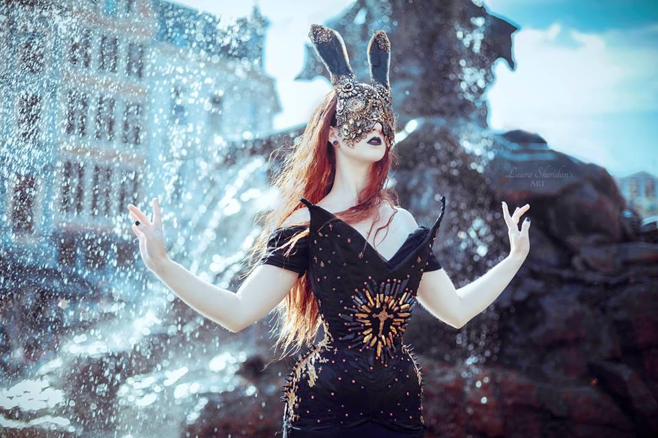 Photographer: Sheridans Art  Model: Christina Critter  Mask: Hysteria Machine