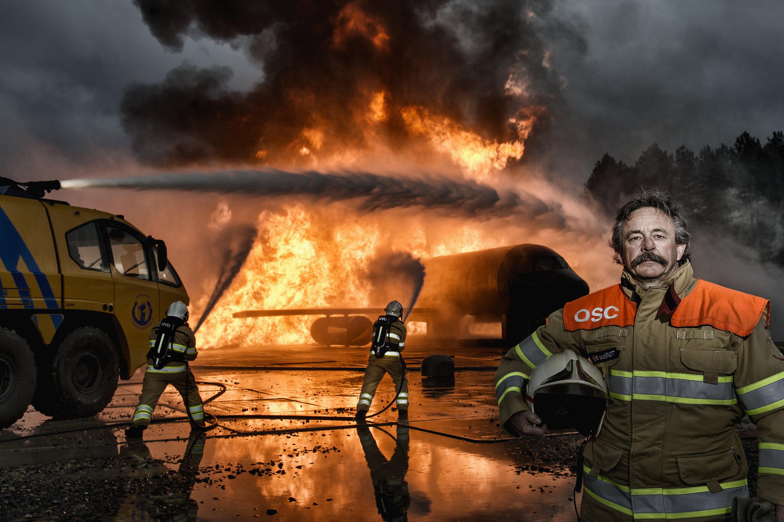 Dutch Army Fireman for Dutch Ministry of Defense