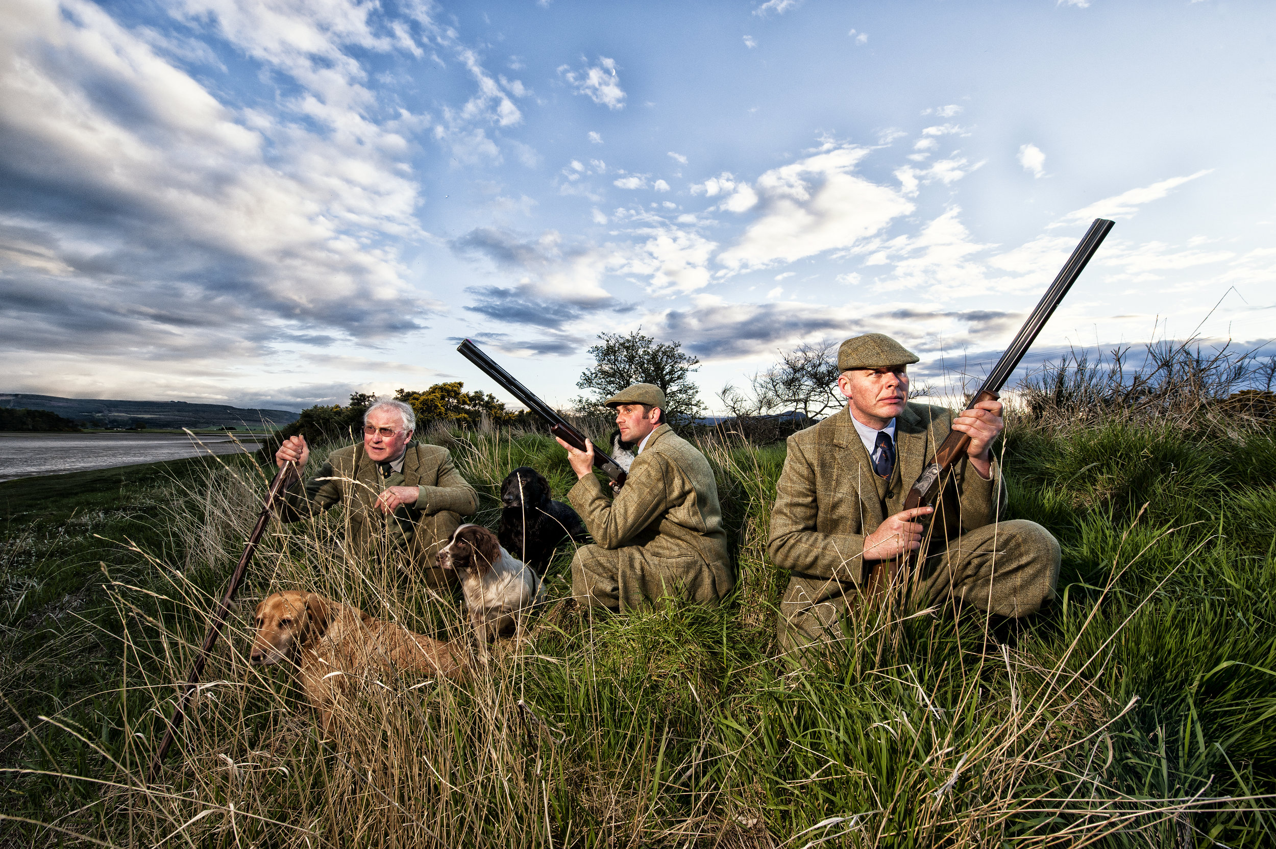 Hunting grounds Skibo Castle Scotland for LXRY-magazine