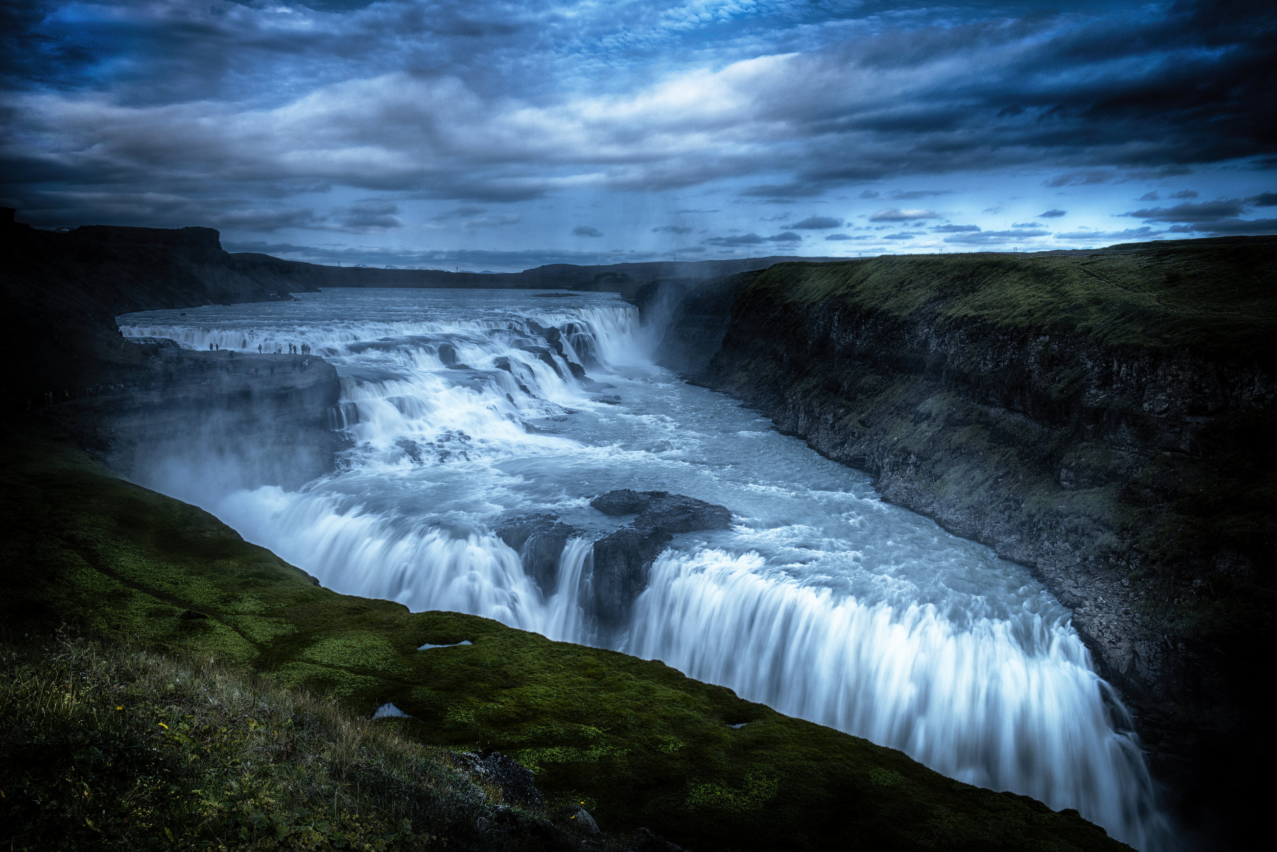 Gullfoss waterfall Iceland for LXRY-magazine