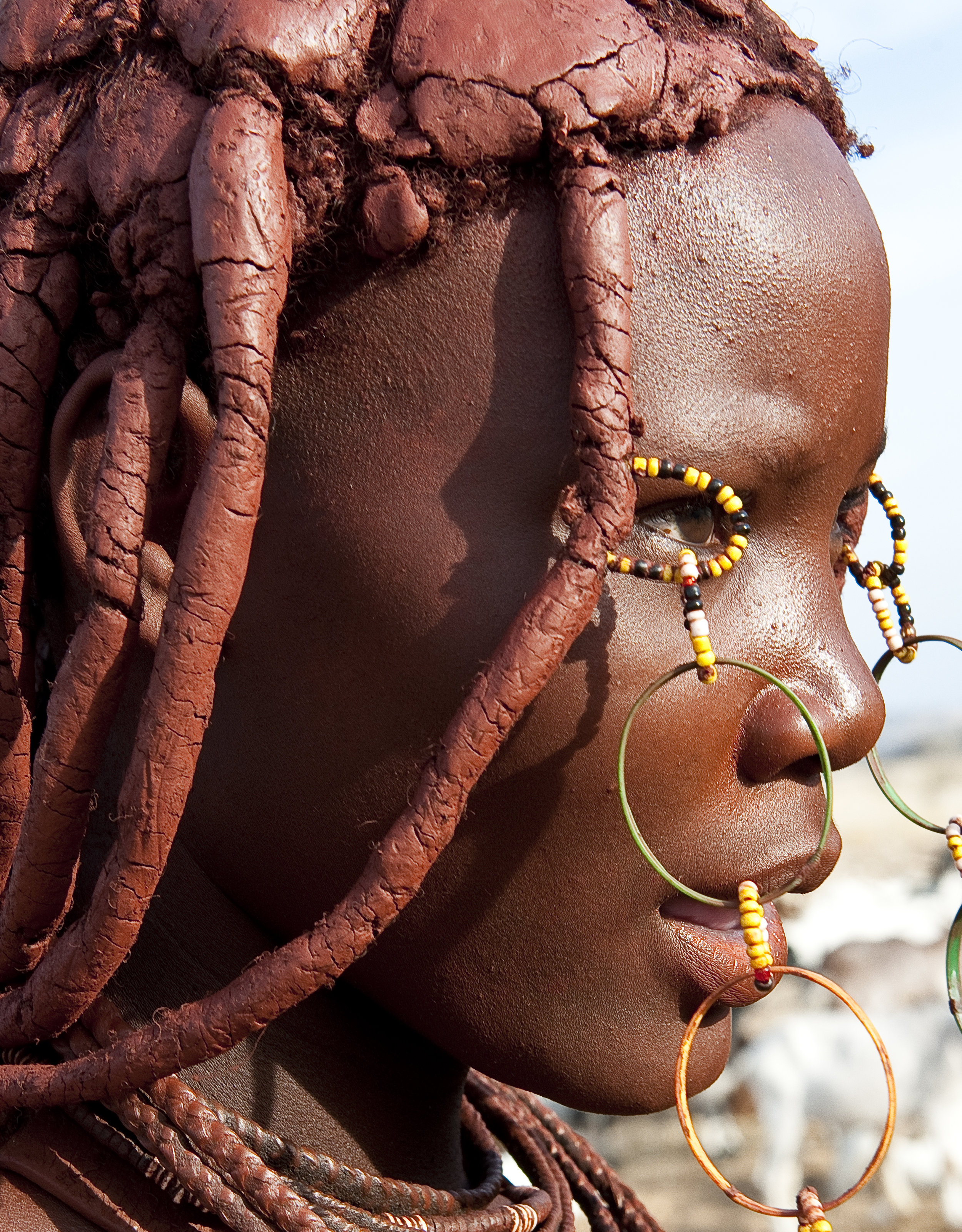 Himba in Namibia for LXRY-magazine