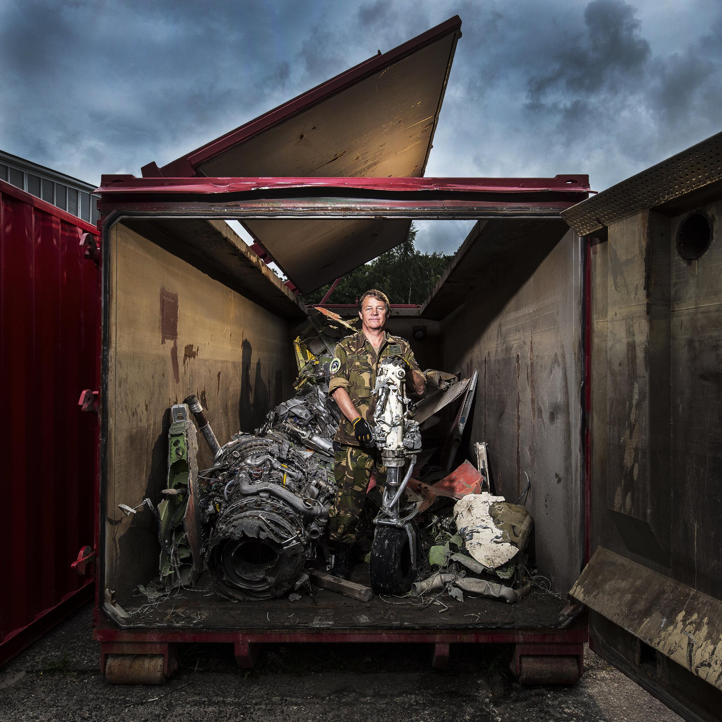 Teamleader Air Crash Investigation Dutch Army