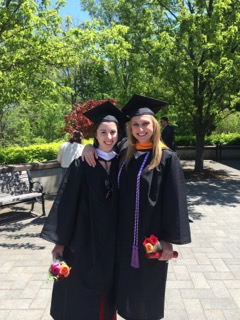 Me with my friend Megan who is now a nurse at Yale Hospital!