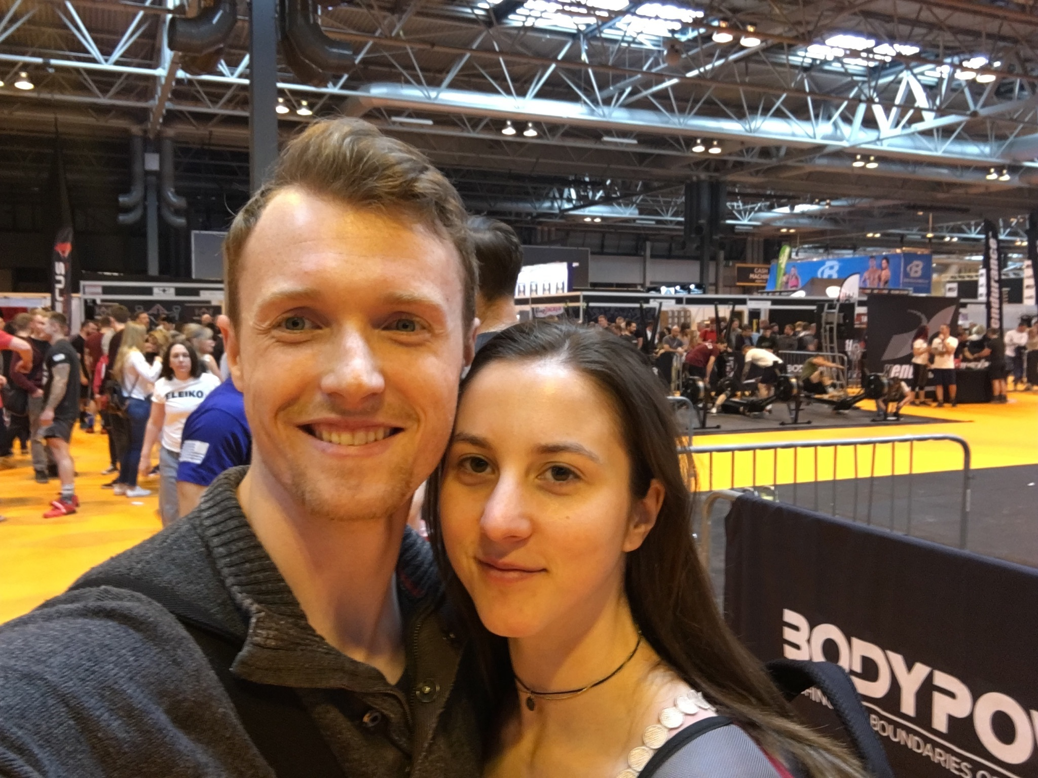 Iain and me at Bodypower 2017