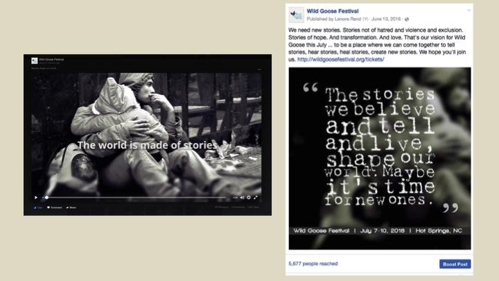 2016 Theme Facebook posts