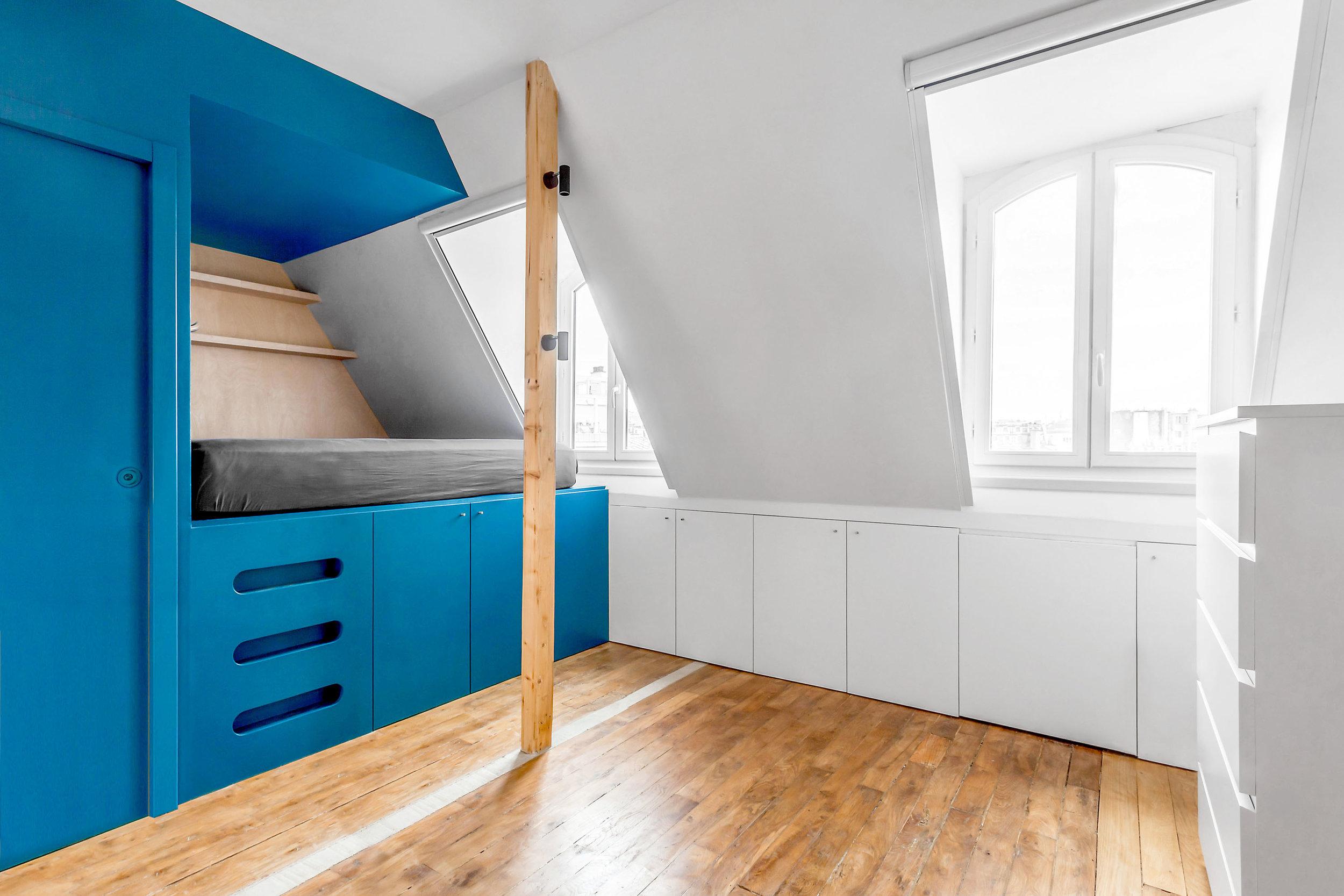 Inée_Architectes_Rénovation_Studio_Paris - © www.bam.archi