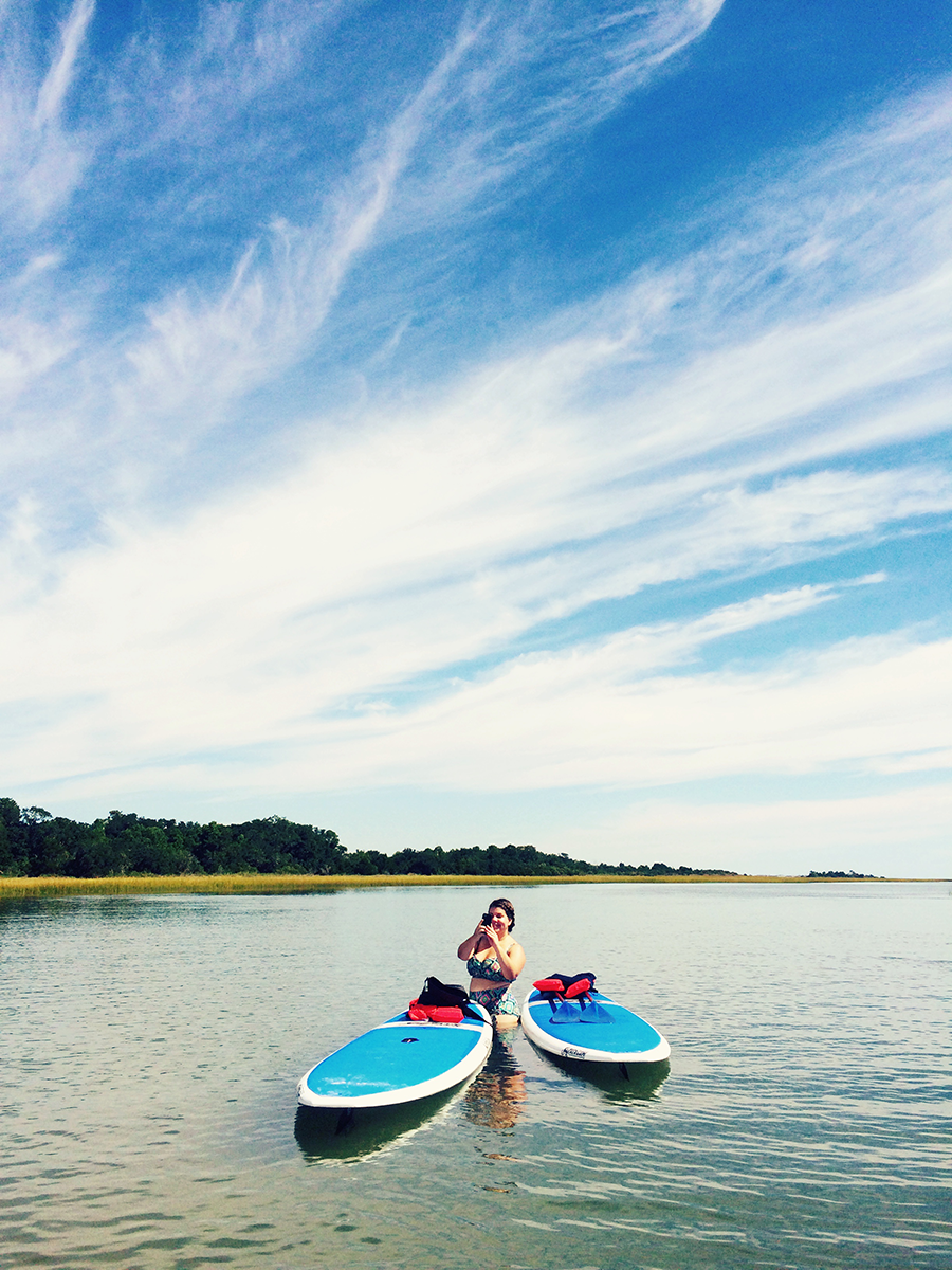 Paddleboarding in Wilmington, NC