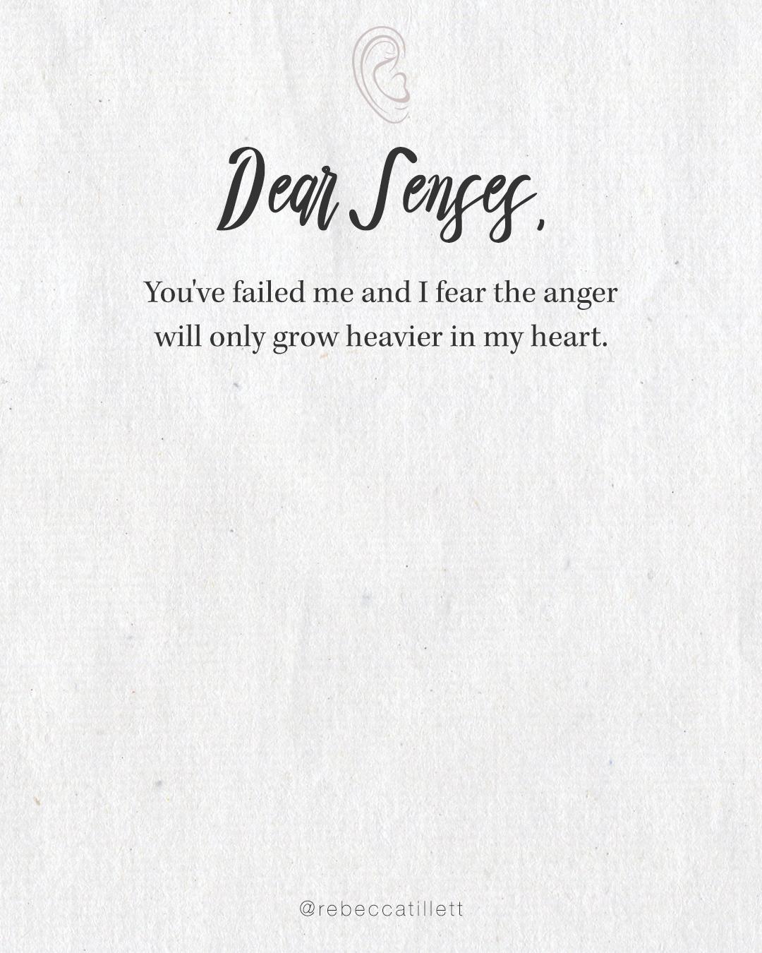 Dear Senses