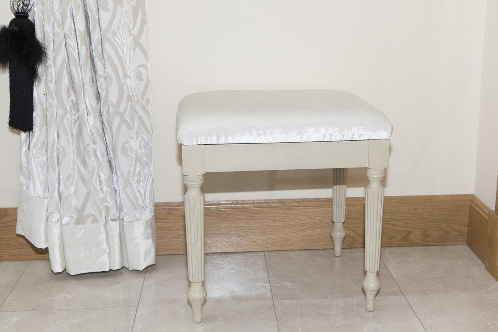Footstool Upholstered