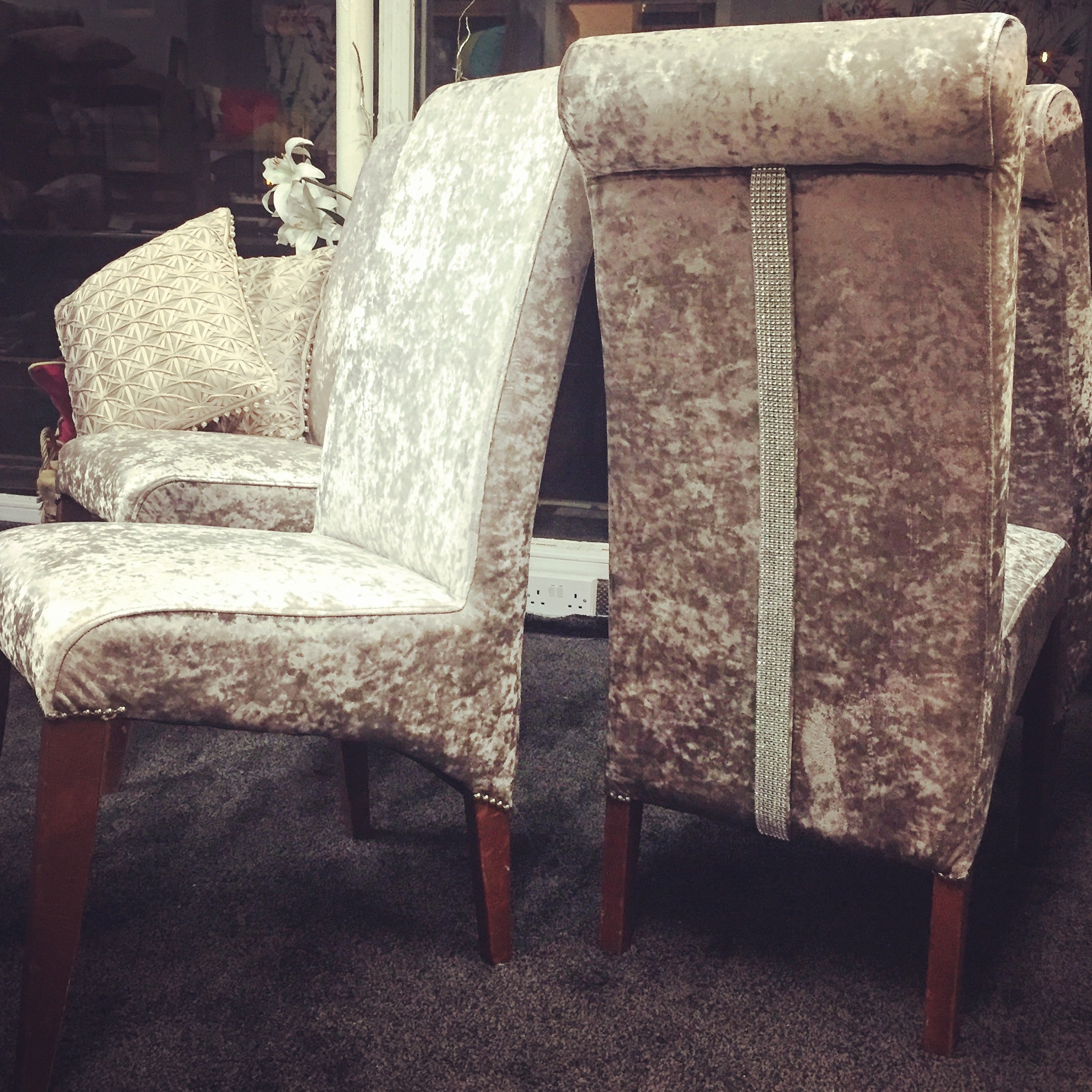 Chairs upholstered by Interior Connections