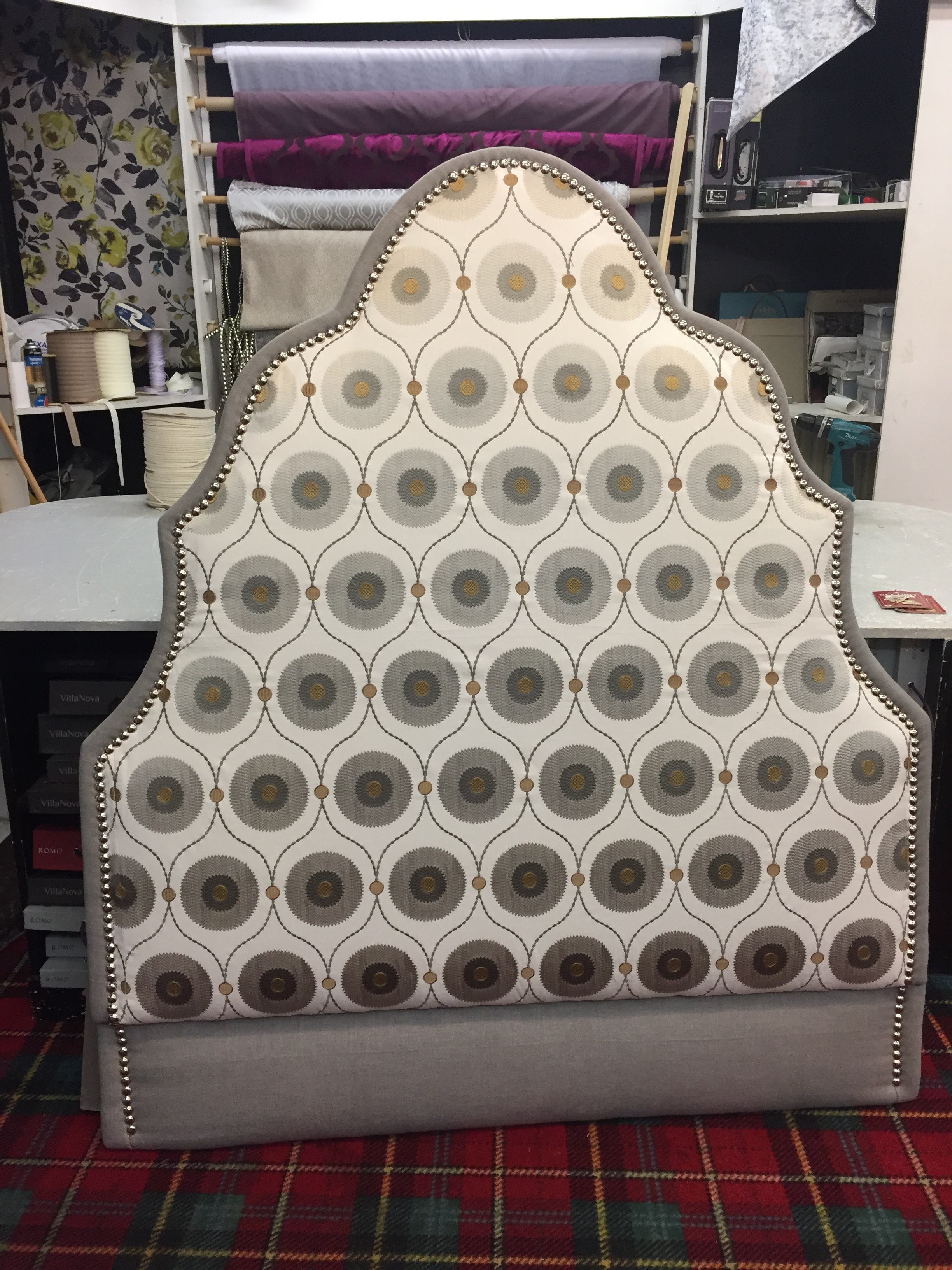 Headboard Designed and Manufactured by Interior Connections