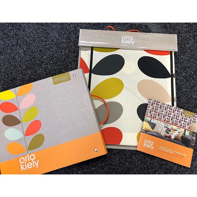 Shop the full @orlakiely collection here in store at Connections! Their vibrant prints create stunning Roman Blinds, Roller Blinds, Curtains & Accessories❤️