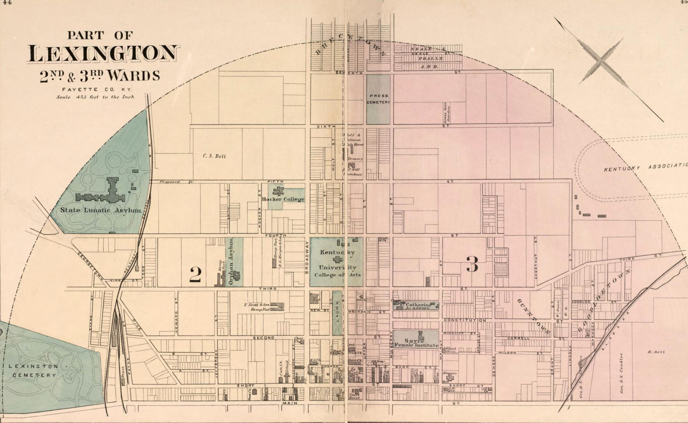 1877 Atlas of Fayette County