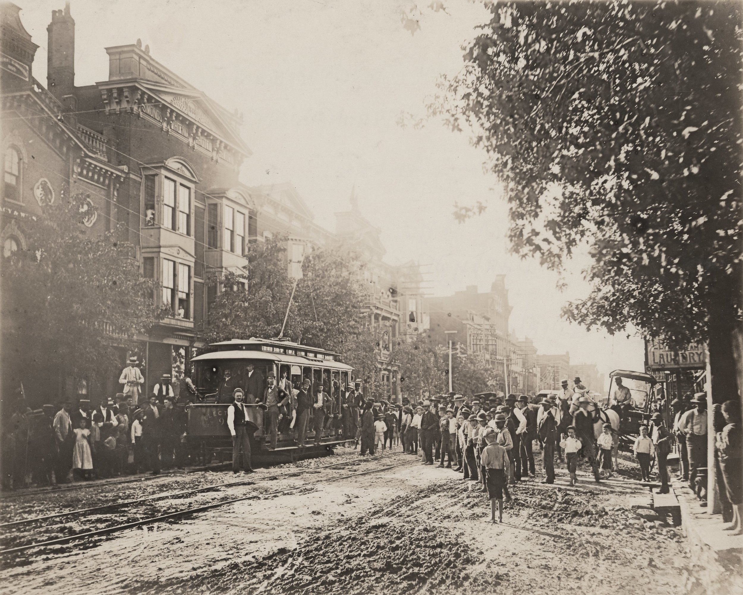 A Streetcar in Downtown Lexington
