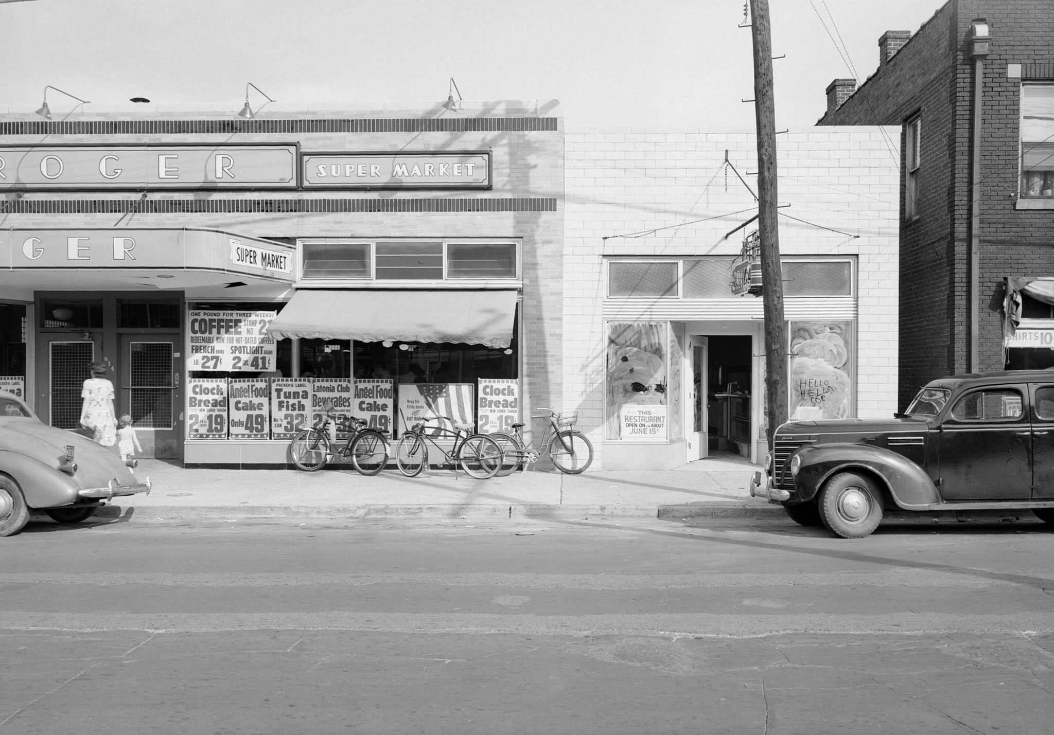 Former Kroger on North Limestone - 1940's; courtesy: Kentucky Digital Archive