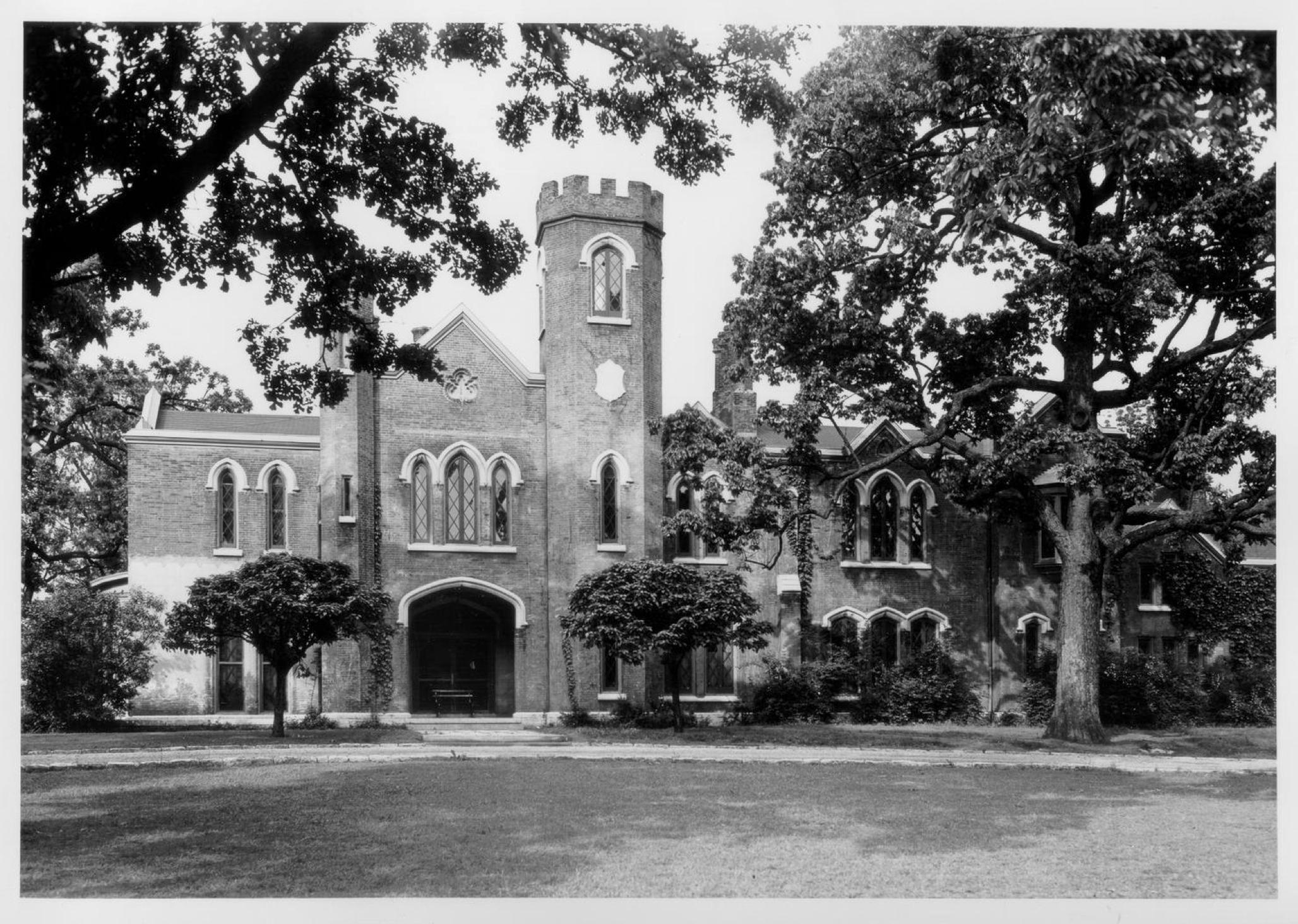 Loudoun House - 1932. Courtesy: National Park Service
