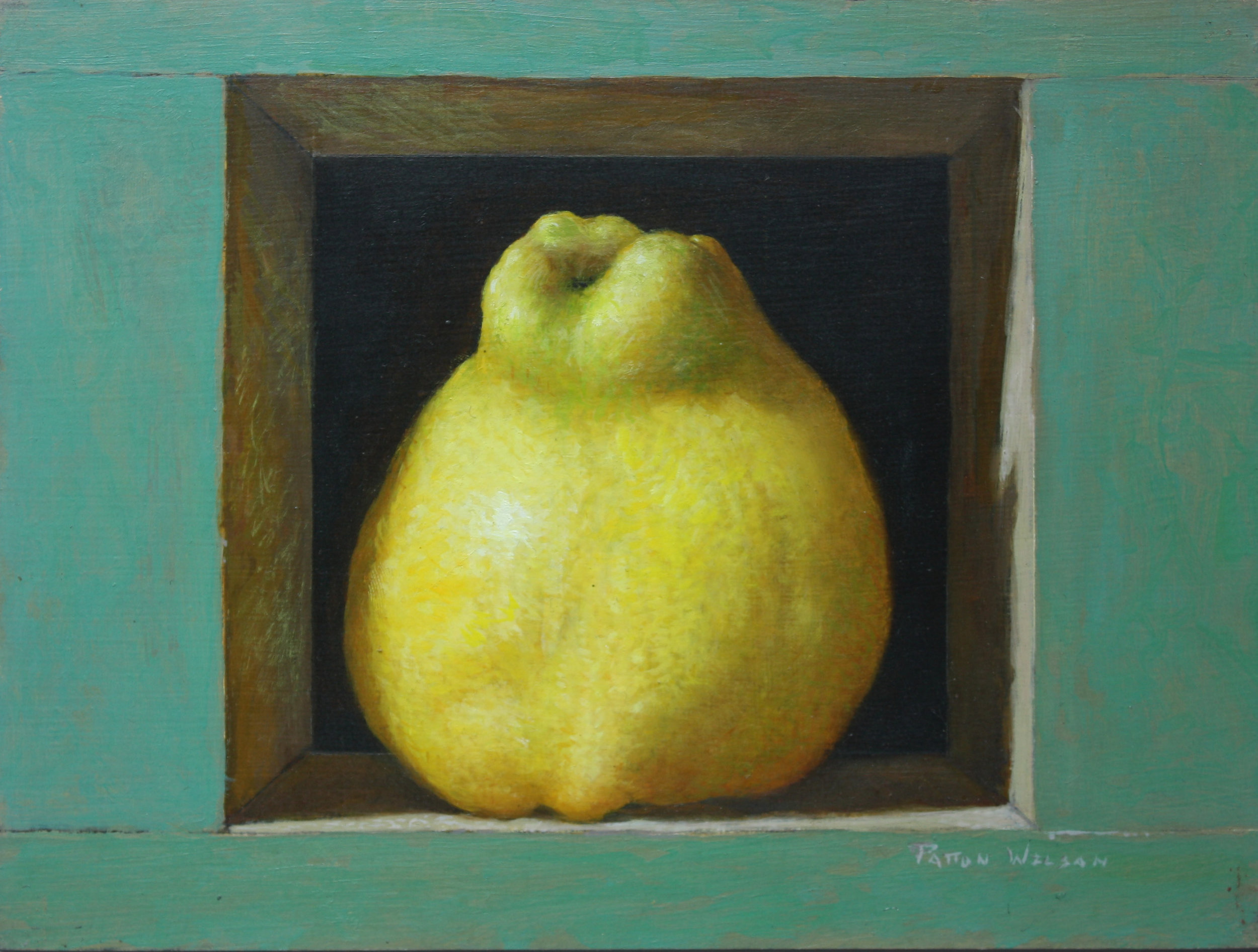 """QUINCE""  Oil 8 x 10"