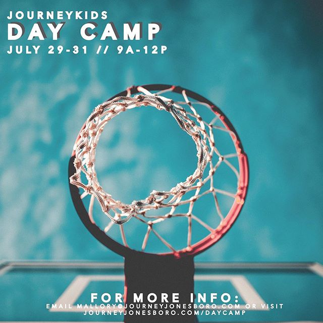 D A Y  C A M P // More summer fun!!!! A little sport action, girl/guy day, water inflatables, a little something different every day to engage EVERY child! ☀️ for completed 1st-6th graders, July 29-31, 9a-12p! Register at journeyjonesboro.com/daycamp so we can be ready for YOU!! 🏈💦