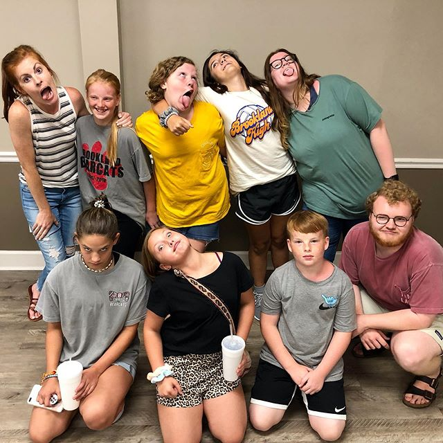 Celebrated these rising 7th graders heading into the student ministry last week! 🎓 each one of these few are absolutely precious and we CAN'T WAIT to see how God uses them next!! 🧡#journeykids #journeystudents @jstudents
