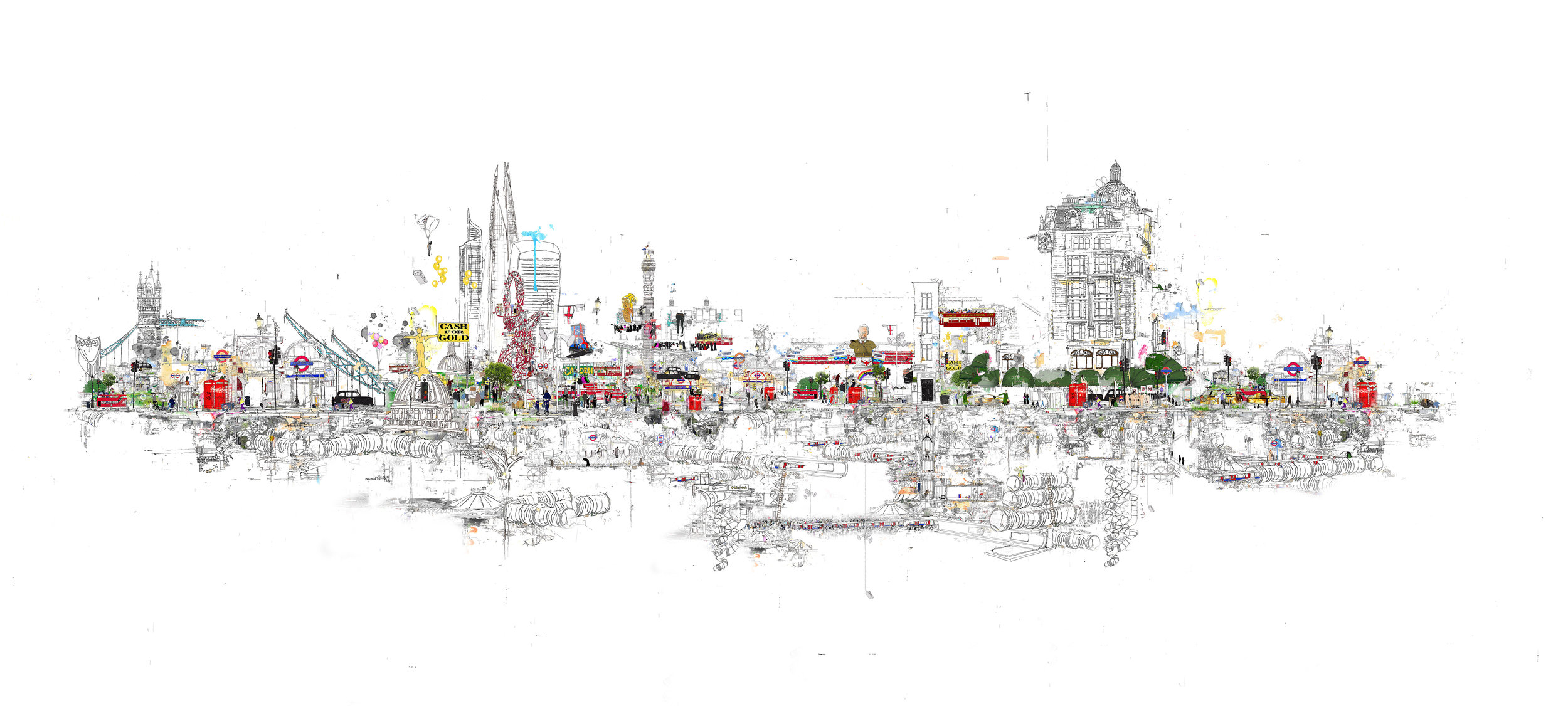 Panoramic View London 2015