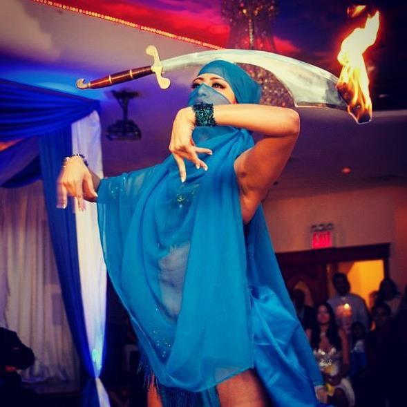 Fire Sword Belly Dancer