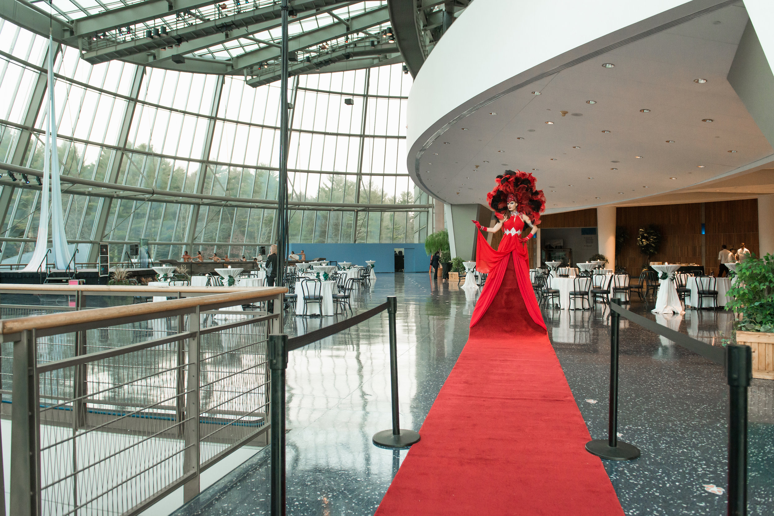 Living Red Carpet with Stanchions and venue low res copy.JPG