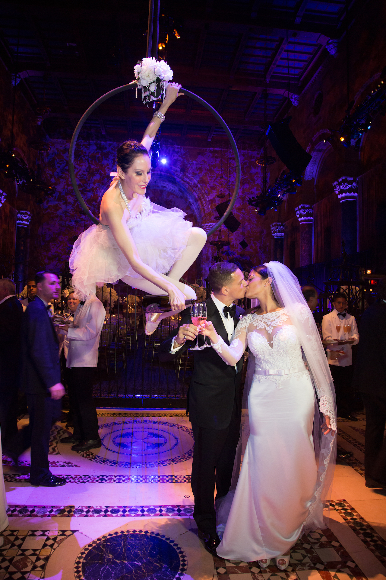 Aerial Champagne Cipriani Wedding 100 pixel.JPG