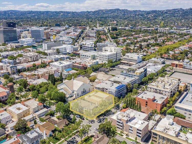 Maple & Charleville - 149-159 S Maple Dr & 9225 Charleville Blvd, Beverly Hills, CA 90212 | $12,000,00016 Buildable Units
