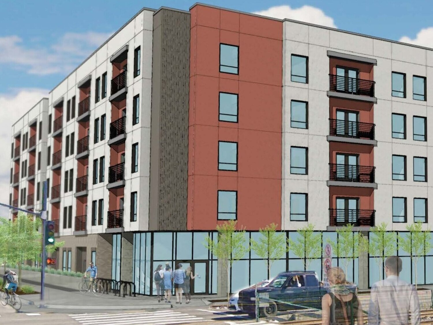 Expo Park Lofts - 3764 S Normandie Ave, Los Angeles, CARedevelopment land totaling 36,392 square feet near USC in entitlements for a five-story mixed-use project with 125 units plus ground-floor retail/commercial space