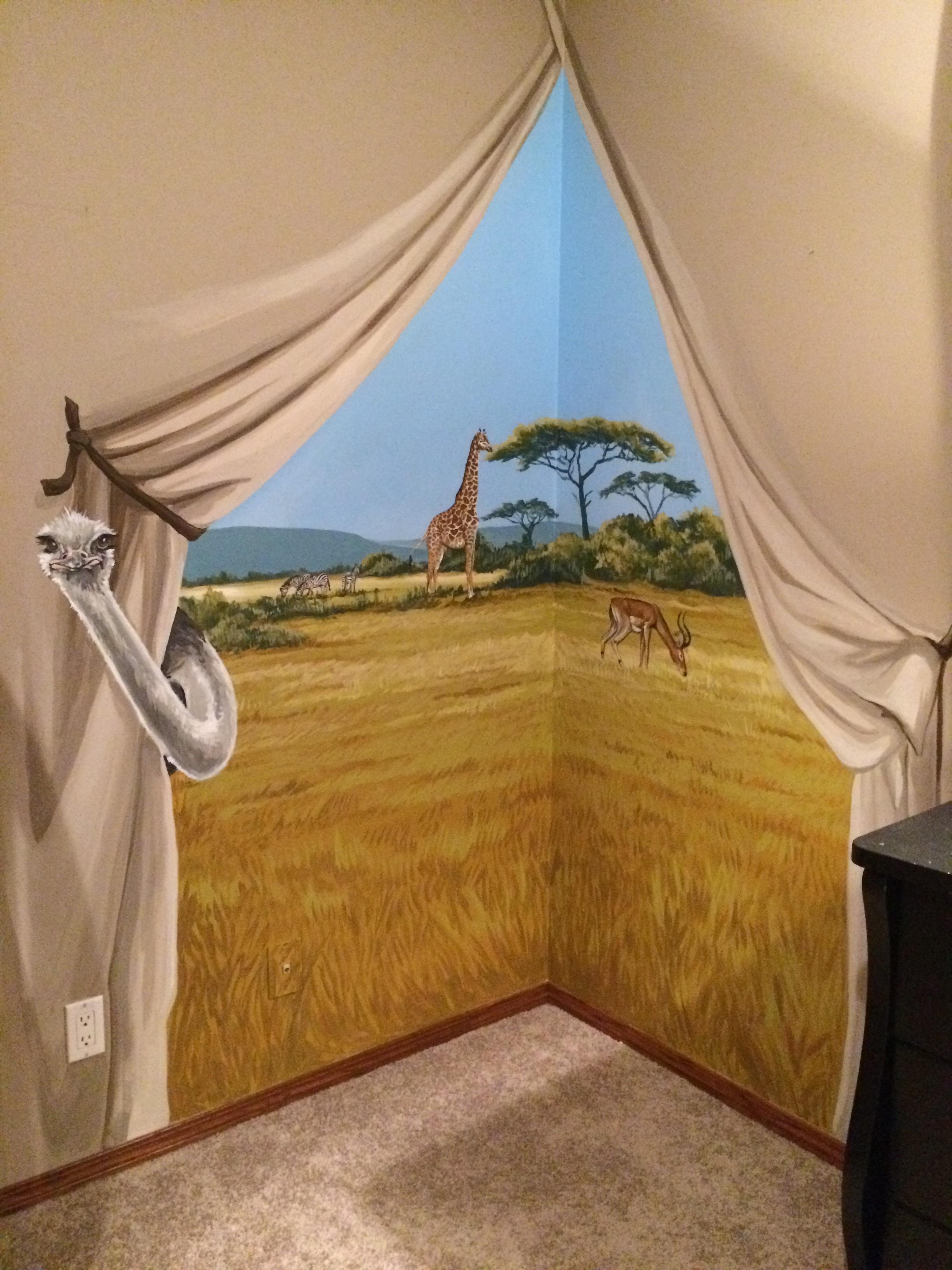 Serengetti camp nursery