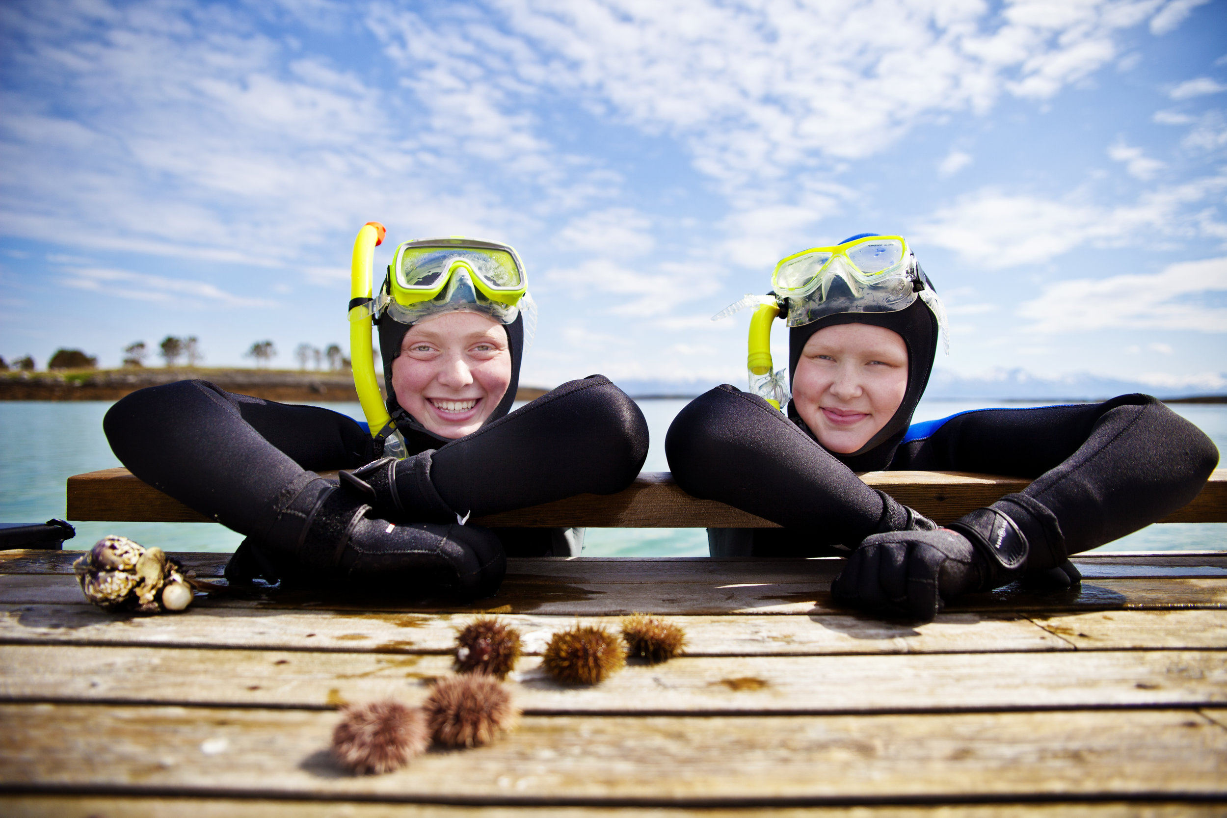 Snorkling -