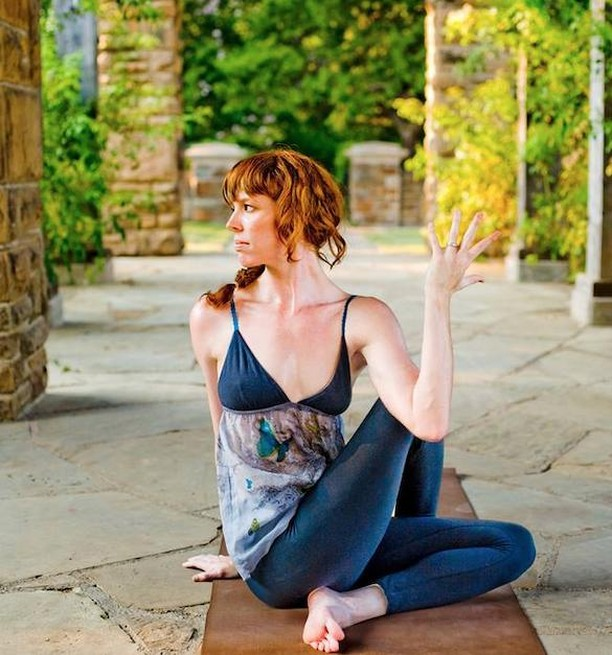 Right on! Yoga is for everybody. Join us at Kidd Springs Park Rec Center with Melody Tarver.