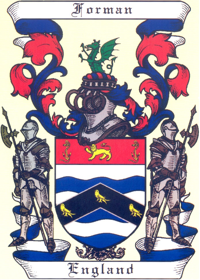 The Forman family crest