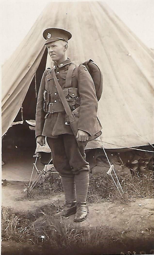 Lance Corporal Basil Bernard Vale (aka Tub)