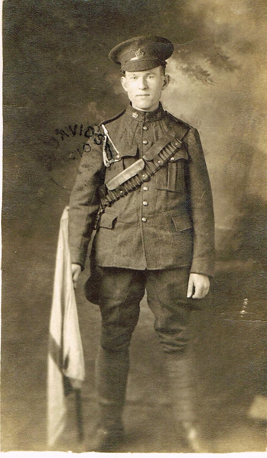 Private George Osmund Vale (aka Bob)