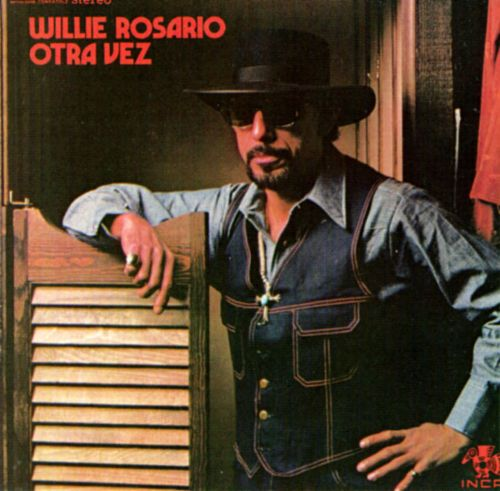 This is the album cover where Papo described Willie looking like a cowboy.