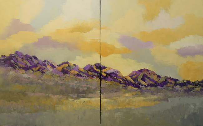 Copy of Landscape #581<br>30x48 (diptych)