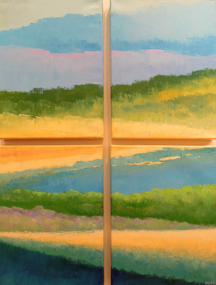 Copy of Landscape #635<br>24x32 (4 panels)