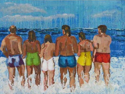 Beach Friends<br>30x40