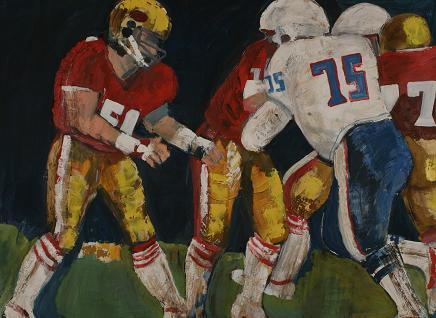 High School Football 2<br>36x48