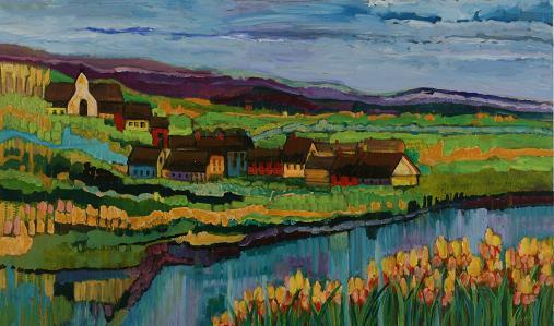 Irish Village<br>36x60