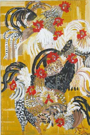 The Year of the Chicken<br>24x30