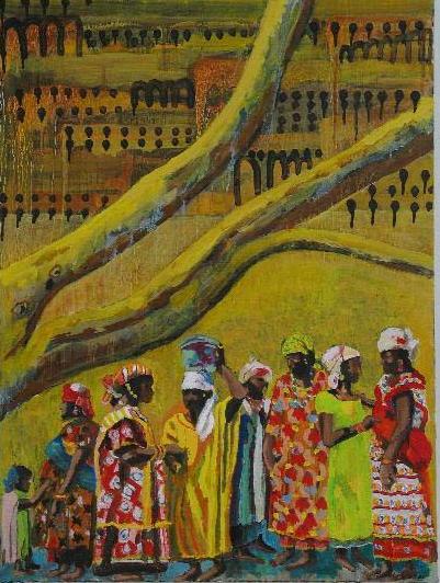 The Gossip Tree<br>30x40