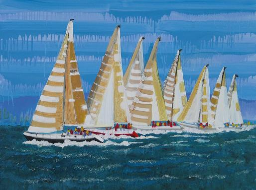 Wind in the Sails<br>30x40