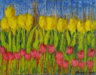 Tulips<br>12x16