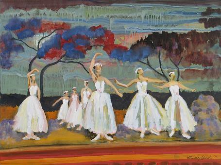 Russian Ballet<br>30x40
